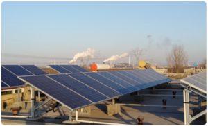 光动互联助河北汉信定州7户分布式光伏发电系统试点项目安全运行