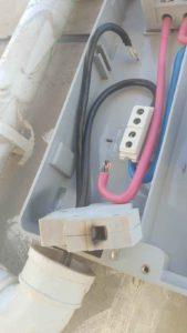 常见故障解析1:电表内的并网线虚接
