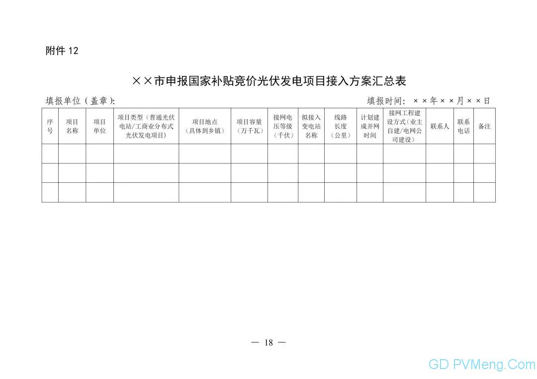 皖6月20日截止||关于印发安徽省2019年申报国家补贴光伏发电项目竞争性配置工作方案的通知(皖能源新能〔2019〕40号)20190610