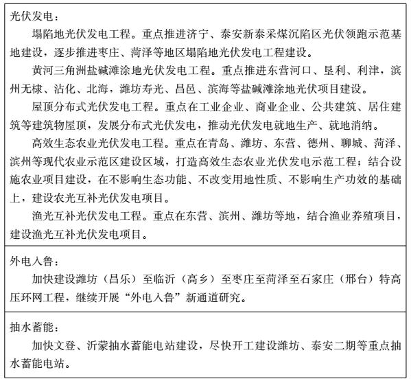 关于印发山东省新能源产业发展规划(2018-2028年)的通知(鲁政字〔2018〕204号)20180917