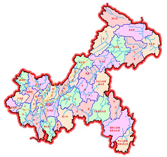 重庆市自然地理(图)